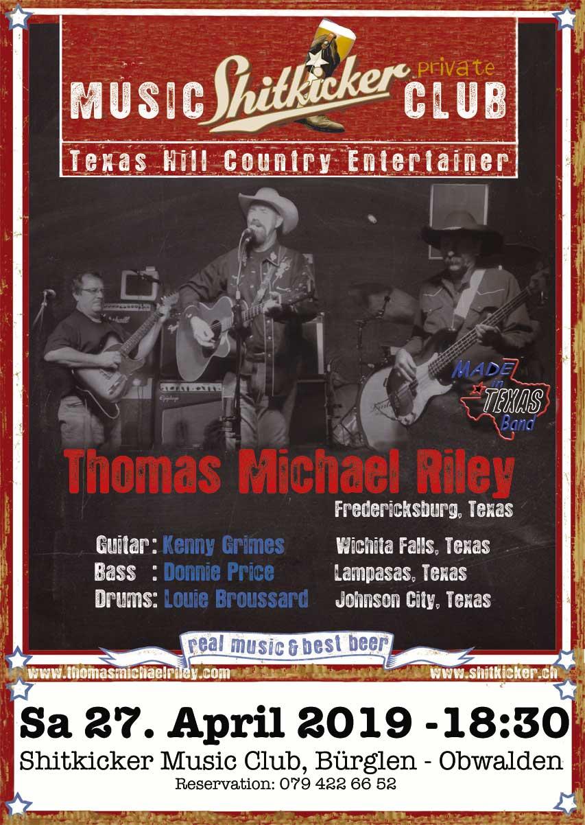 Thomas Michael Riley and the 100% Texas Band