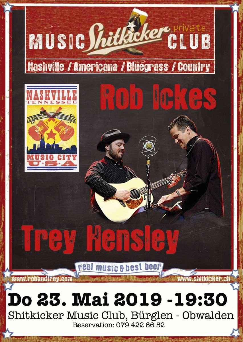 ROB ICKES & TREY HENSLEY (USA)